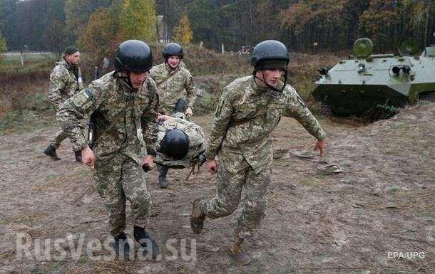 Каратели ВСУпонесли тяжёлые потери иотложили наступление наГорловку