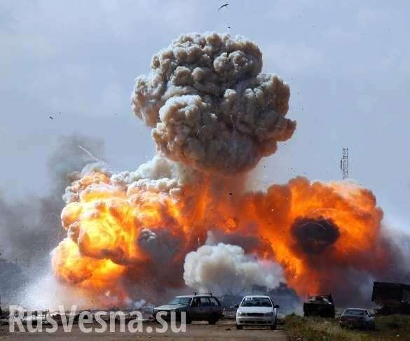 Сирия: русский Су-25 атаковал укрепрайон наёмников США | Русская весна