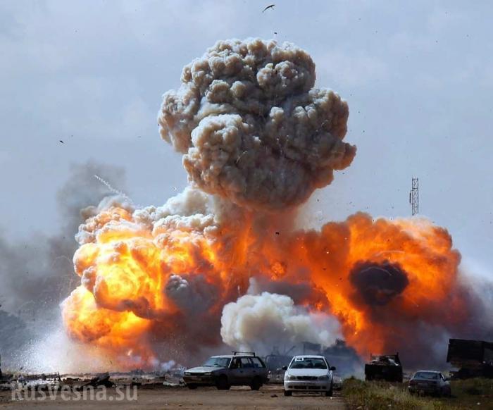 Сирия: русский Су-25 атаковал укрепрайон наёмников США