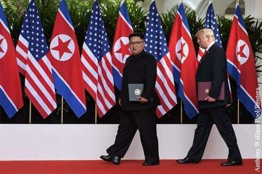 Встреча Трампа с Кимом – выигрывает Россия