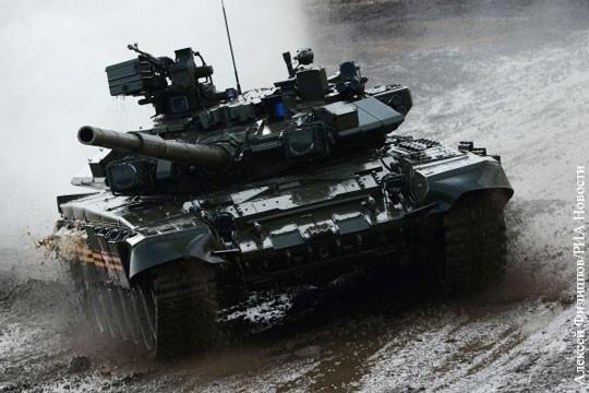 О выявленной в Сирии уязвимости российских Т-90