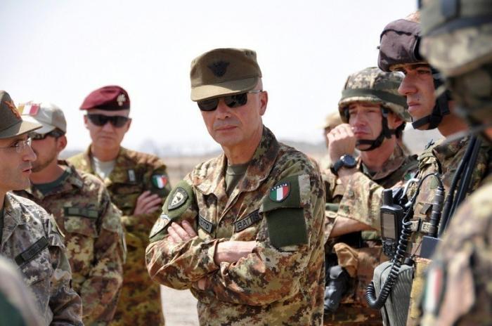 В Дейр эз Зоре размещен итальянский военный контингент