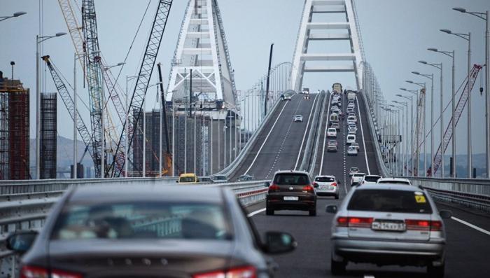 Крымский мост установил новый личный рекорд интенсивности движения
