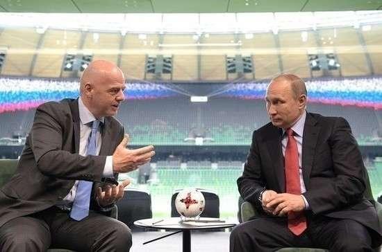 На Чемпионат Мира по футболу в Россию приедут лидеры многих стран