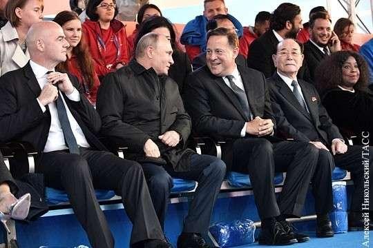 Чемпионат мира по футболу уже принес России победу над кознями Британии