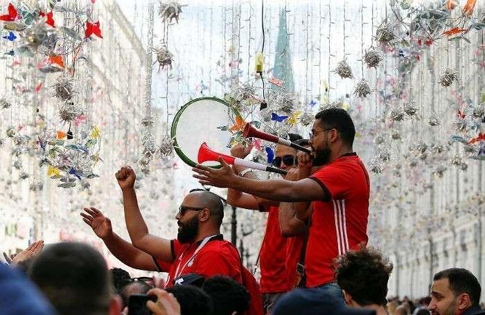Москва, ЧМ-2018: праздник футбола в барах, на улицах и теплоходах