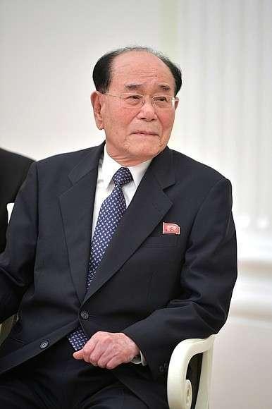 Председатель Президиума Верховного народного собрания Корейской Народно-Демократической Республики Ким Ён Нам.