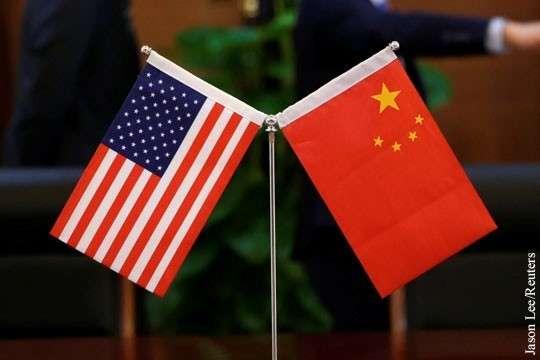 Китай заявил об отмене договоренностей с США из-за введения Вашингтоном пошлин