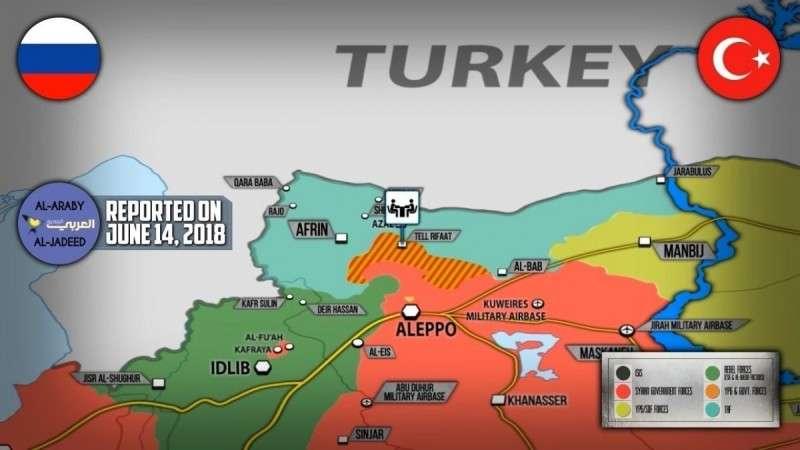 Сирия. Турция и Россия договорились по Талль Рифаату, убийство переговорщиков