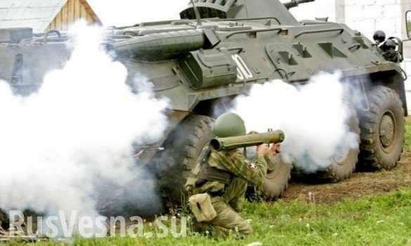 Армия ДНР уничтожила огневые точки укрохунтовских оккупантов под Горловкой | Русская весна