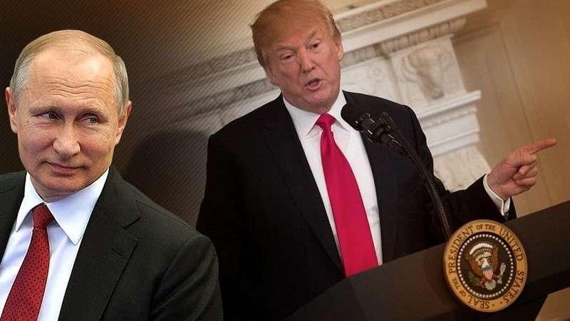 Дональд Трамп хочет но не может встретится с Владимиром Путиным