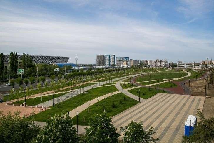 ВВолгограде завершён второй этап реконструкции парка уМамаева кургана