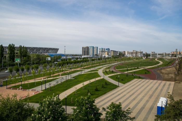 Волгоград. завершён очередной этап реконструкции парка уМамаева кургана