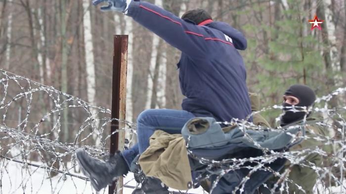Военная приемка на границе. Юг России