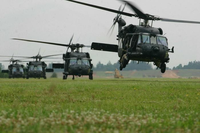 В Пентагоне признали, что американские вертолёты намного хуже российских