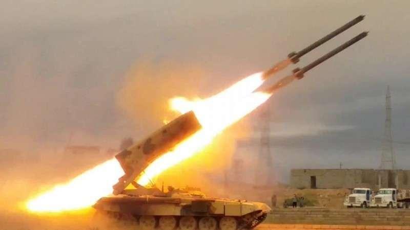 Сирийская армия нанесла массированный ракетный удар по американским наёмникам в Дераа