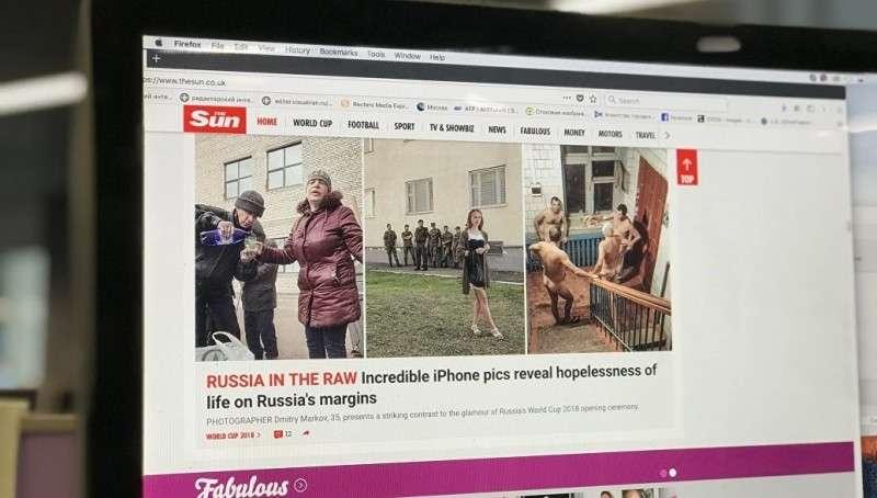 Английская газета обманула фотографа из России, чтобы очернить всю страну