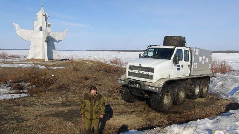 В Нижнем Новгороде создали вездеход нового поколения «Русак» «Русак»