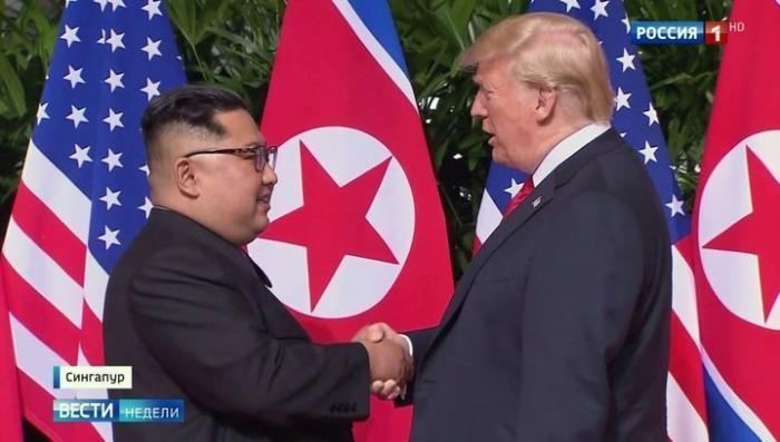 Встреча Дональда Трампа и Ким Чен Ына: много слов и ничего конкретного