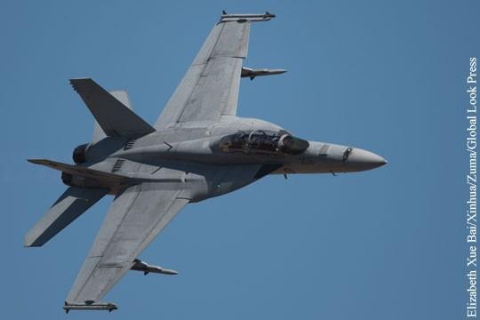 Бандиты коалиции США нанесли авиаудар по войскам Сирии