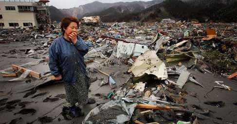 Землетрясение в Японии: сотни пострадавших и погибших