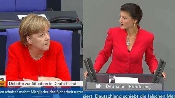 Скандал в немецком парламенте: депутат напомнила немцам чем закончилась русофобия в 1945