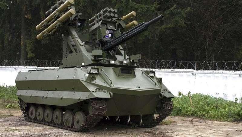 У боевого робота «Уран-9» в боях в Сирии выявили недостатки