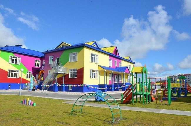 Новый детский сад открыт вСахалинской области