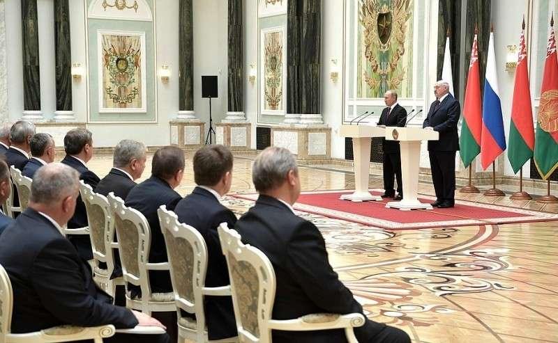 Заявления для прессы поитогам заседания Высшего Государственного Совета Союзного государства.