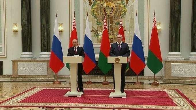 Заявления для прессы поитогам заседания Высшего Госсовета Союзного государства России иБелоруссии