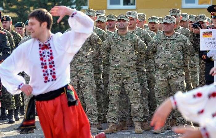 Боевой гопак за  счет Пентагона. На Западной Украине подходят к завершению учения «Быстрый трезубец - 2014»