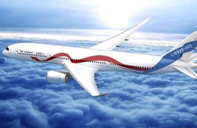 Российско-китайский авиалайнер CRAIC CR929 появится на 2 года раньше