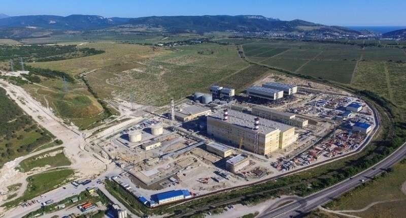 На севастопольской ТЭС началось испытание газовой и паровой турбин