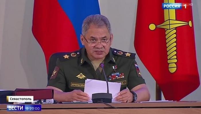 Коллегия Минобороны впервые в истории провела совещание в Крыму