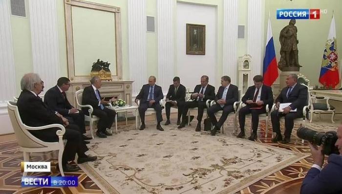 В дни ЧМ-2018 Владимир Путин встречается с ведущими политиками мира