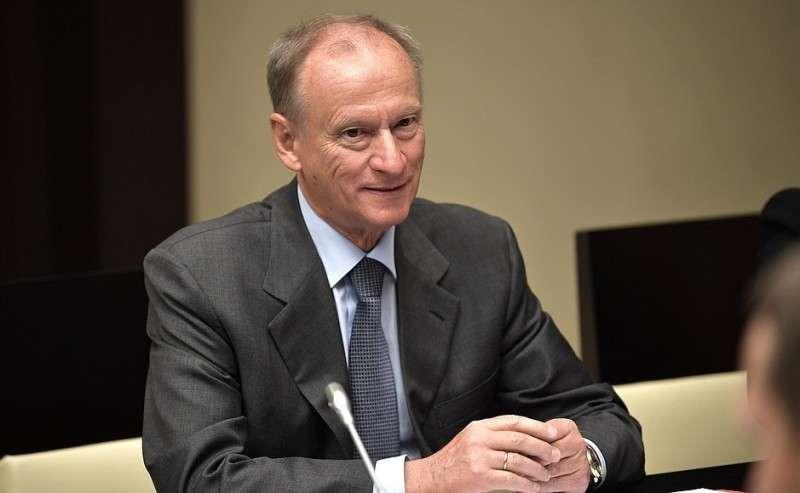Секретарь Совета Безопасности Николай Патрушев перед началом совещания спостоянными членами Совета Безопасности.