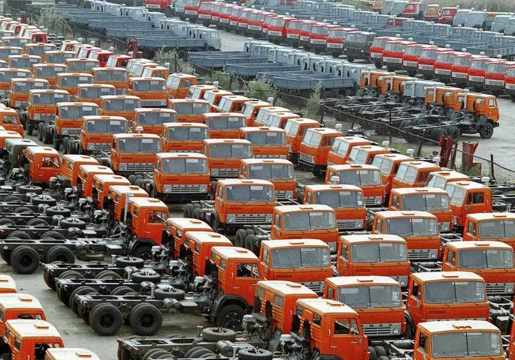 КамАЗ заявил о захвате партии грузовиков бойцами самообороны Майдана