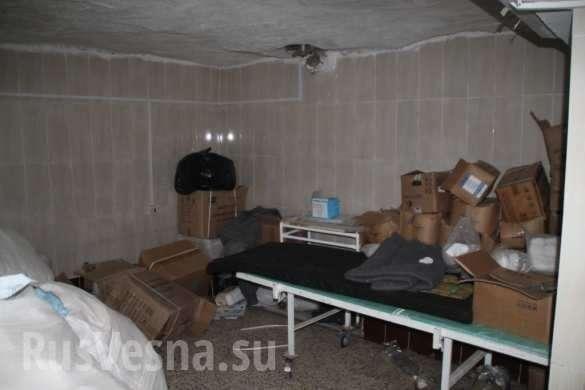 Сирия: Российские военные обнаружили подземныйгоспиталь боевиков, созданный при помощи детского фонда ООН (+ВИДЕО, ФОТО) | Русская весна