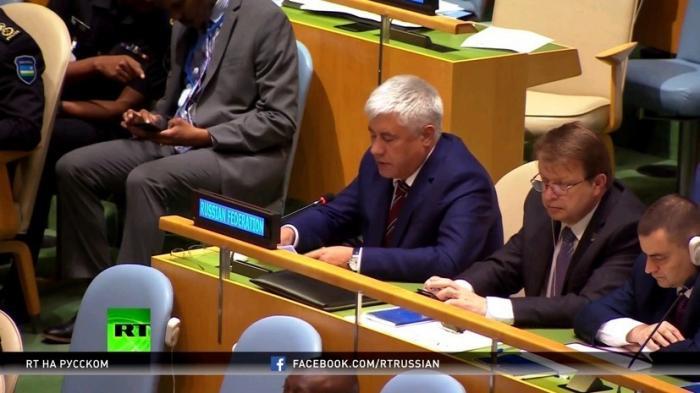 Глава МВД РФ Владимир Колокольцев выступил на саммите глав полицейских служб в США