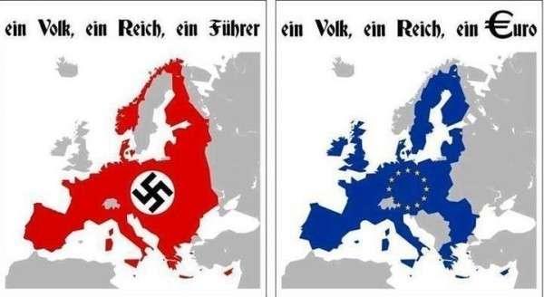 Как Европа несёт свет европейской цивилизации «совковым ватникам» и «колорадам»