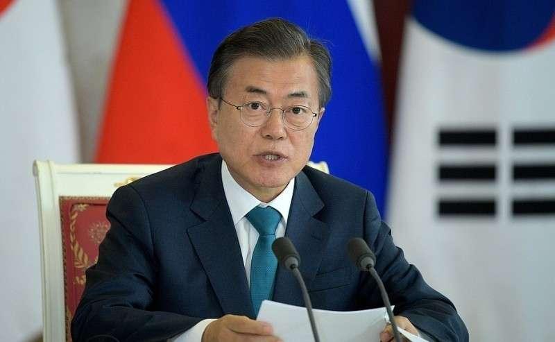 Заявления для прессы поитогам российско-корейских переговоров. Президент Республики Корея Мун Чжэ Ин.