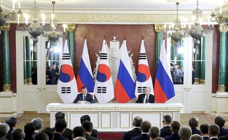 Заявления для прессы поитогам российско-корейских переговоров.