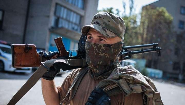 Украинские каратели продолжают обстрелы, несмотря на перемирие