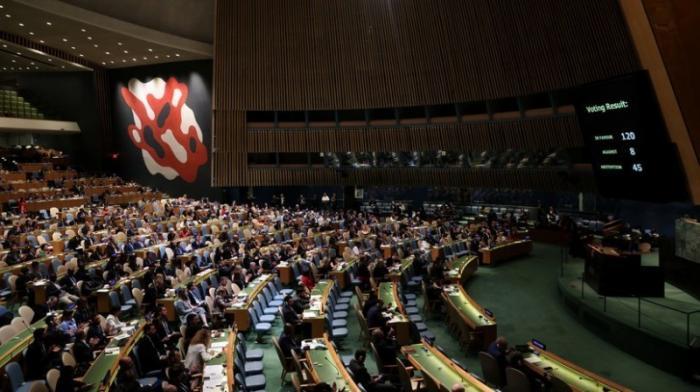 Генассамблея ООН призывает вывести российских военных из Приднестровья