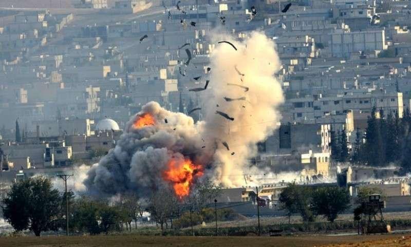 В Сирии авиация США нанесла удары по позициям сирийской армии вокруг района Эт-Танф
