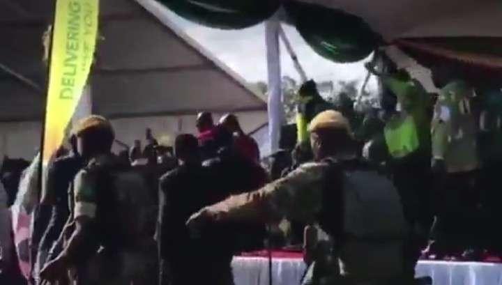На президента Зимбабве Эммерсона Мнангагву совершено покушение