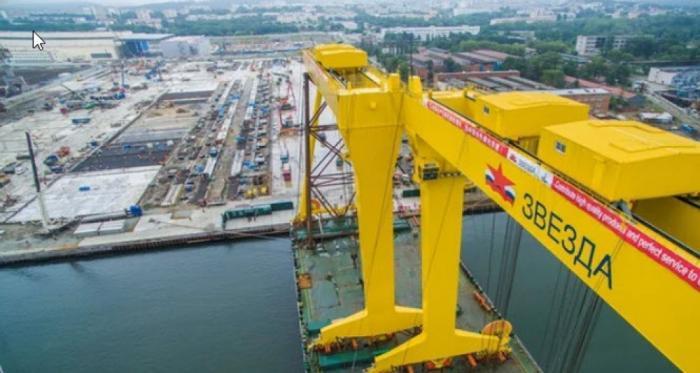 Мегастройка судоверфь «Звезда» на Дальнем Востоке завершится раньше срока