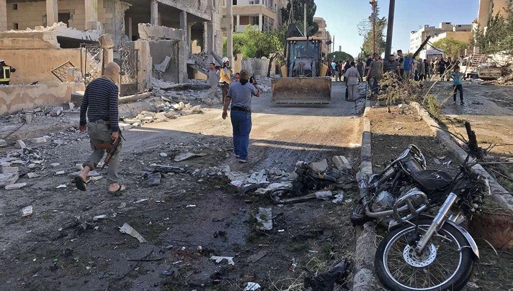 Сирия. Жители Идлиба сообщили о готовящейся провокации террористов против России