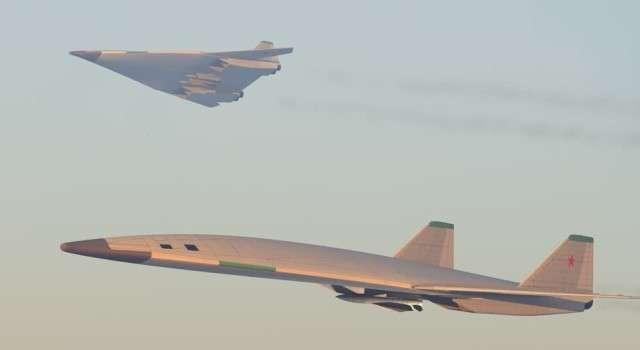 Россия и Китай разрабатывают новые стратегические бомбардировщики