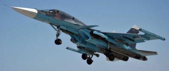 Российский истребитель-бомбардировщик Су-34 западные СМИ признали лучшим в мире
